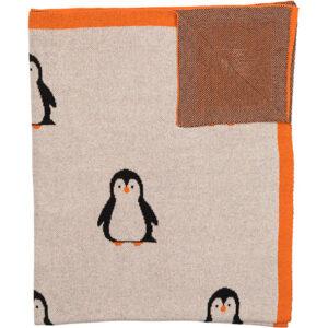 100% Organic Cotton Baby Blanket – Penguin
