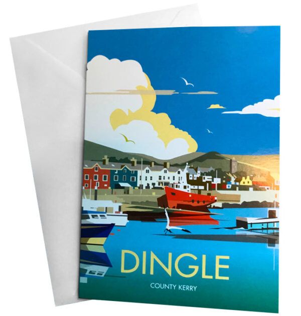 Dingle Greeting Card and Envelope