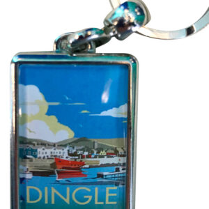 Dingle Metal Keyring