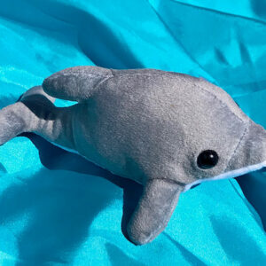 Recycled Dolphin soft toy