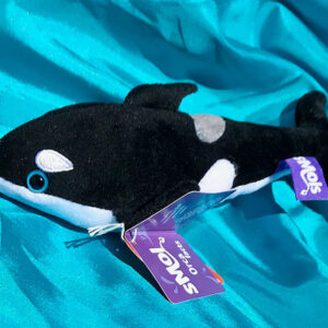 Recycled Orca soft toy