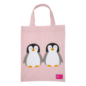 Organic Kids Totebag – Penguin Chick