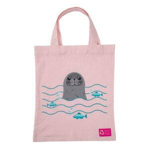 Organic Kids Totebag – Seal
