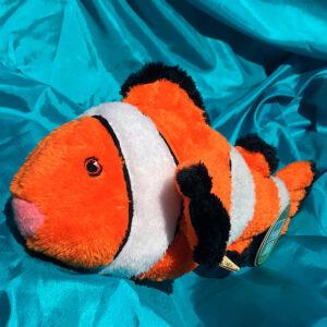 100% Recycled Plush Clownfish 31cm