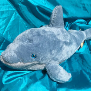 100% Recycled Plush Dolphin 53cm