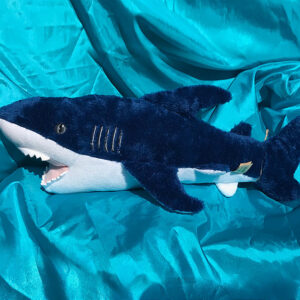 100% Recycled Plush Mako Shark 53cm