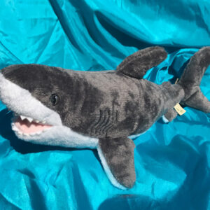 100% Recycled Plush Shark 53.5cm