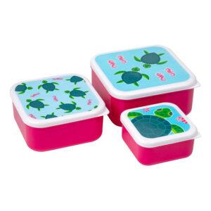 Turtle Lunchbox Set