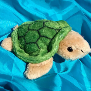 Recycled Turtle soft toy