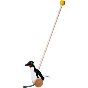 Wooden Push Stick – Penguin