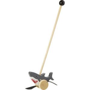 Wooden Push Stick – Shark