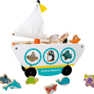 Amphibious Wooden Animal Rescue Vehicle
