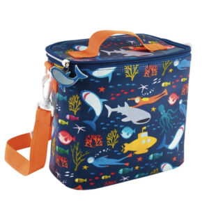 Deep Sea Lunch Bag with Detachable Strap