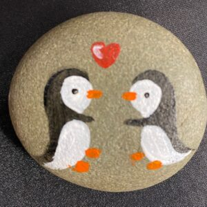 Penguin Love Pebble – SOLD OUT –